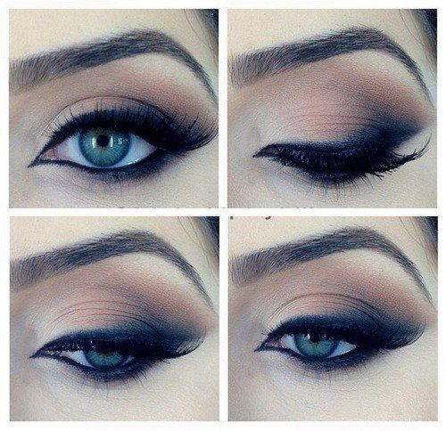 Top 10 Smoky Eyes Yeux Bleus ♡ | Blog Smoky eyes