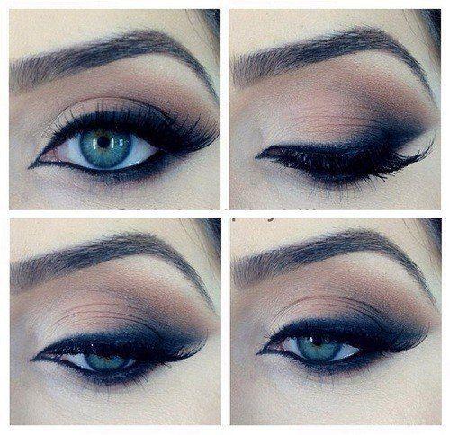 Smoky Eyes Yeux bleus 8