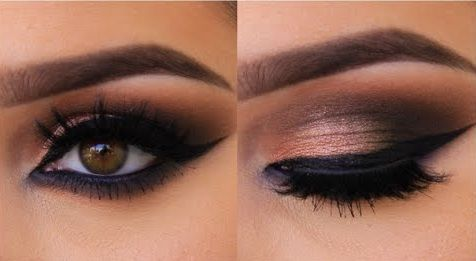 top 10 smoky eyes yeux marrons blog smoky eyes. Black Bedroom Furniture Sets. Home Design Ideas
