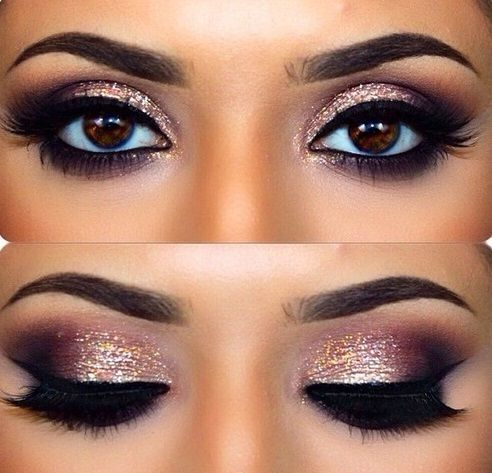Maquillage yeux marrons smoky eyes - Maquillage smoky eyes ...