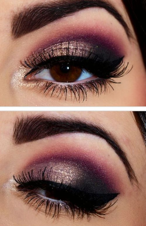 Top 10 smoky eyes yeux marrons blog smoky eyes - Maquillage smoky eyes ...