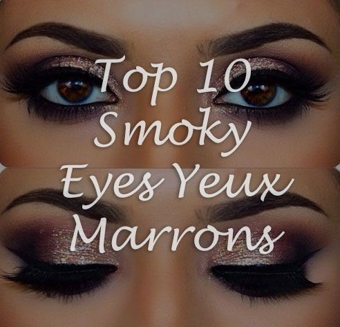 photos smoky eyes maquillage des yeux. Black Bedroom Furniture Sets. Home Design Ideas