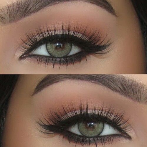 Maquillage smoky yeux verts - Maquillage smoky eyes ...
